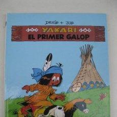 Comics: YAKARI - Nº 16 - EL PRIMER GALOP - DERIB & JOB - EN CATALÁN - JOVENTUT - AÑO 1993.. Lote 120326735