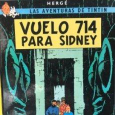 Cómics: ANTIGUO TEBEO CÓMIC TINTÍN VUELO 714 PARA SIDNEY JUVENTUD 2002. Lote 120439543