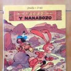 Cómics: YAKARI TOMO 4 YAKARI Y EL NANABOZO DE DERIB + JOB - JUVENTUD 1º EDICION 1980. Lote 120633439