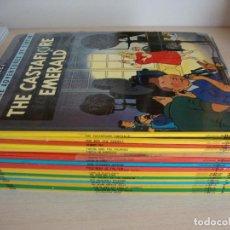 Cómics: COLECCIÓN COMPLETA DE TINTÍN EN INGLÉS EDICIONES DEL PRADO STUDY COMICS. Lote 121084091