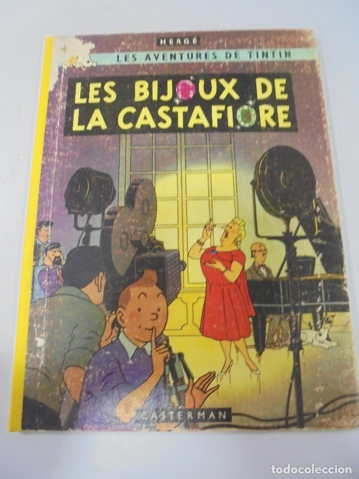 LES AVENTURES DE TINTIN. CASTERMAN. 1963. LES BIJOUX DE LA CASTAFIORE. VER FOTOS (Tebeos y Comics - Juventud - Tintín)