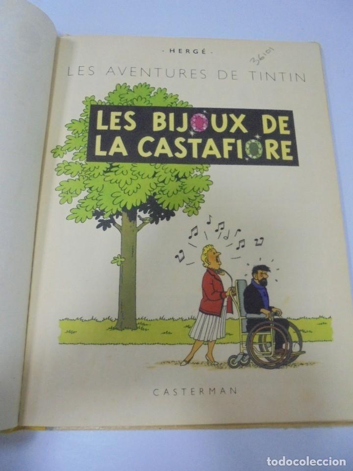 Cómics: LES AVENTURES DE TINTIN. CASTERMAN. 1963. LES BIJOUX DE LA CASTAFIORE. VER FOTOS - Foto 2 - 121127343
