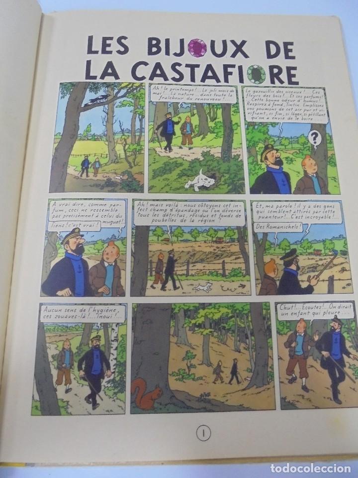 Cómics: LES AVENTURES DE TINTIN. CASTERMAN. 1963. LES BIJOUX DE LA CASTAFIORE. VER FOTOS - Foto 4 - 121127343
