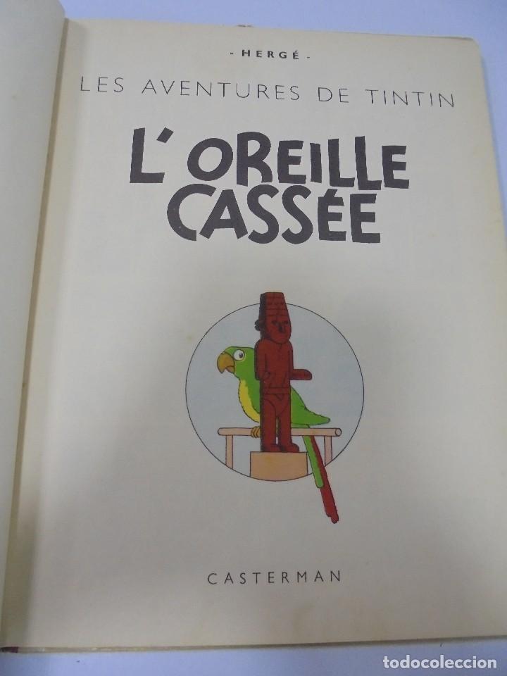 Cómics: LES AVENTURES DE TINTIN. CASTERMAN. 1947. LOREILLE CASSEE. VER FOTOS - Foto 2 - 121127535