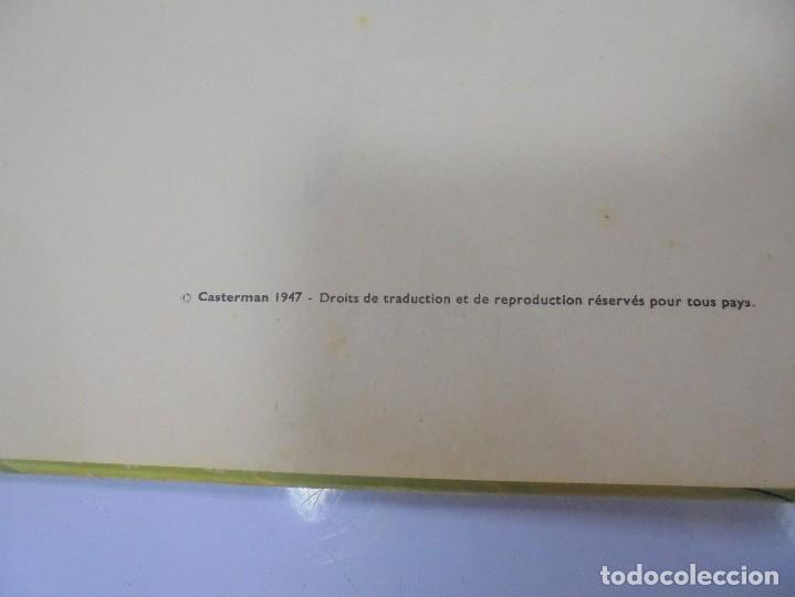 Cómics: LES AVENTURES DE TINTIN. CASTERMAN. 1947. LOREILLE CASSEE. VER FOTOS - Foto 3 - 121127535