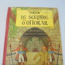 Cómics: LES AVENTURES DE TINTIN. CASTERMAN. 1947. LE SCEPTRE D'OTTOKAR. VER FOTOS. Lote 121127903