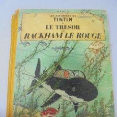 Cómics: LES AVENTURES DE TINTIN. CASTERMAN. 1947. LE TRESOR DE RACKHAM LE ROUGE. VER FOTOS. Lote 121128103