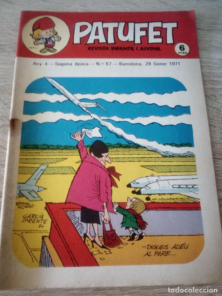 PATUFET - REVISTA INFANTIL I JUVENIL - ANY 4 - SEGONA ÉPOCA - Nº 57 - 29 GENER 1971 (Tebeos y Comics - Juventud - Otros)