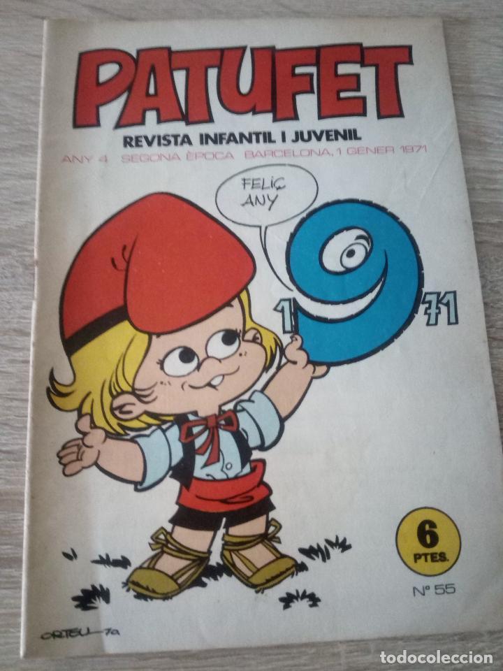 PATUFET - REVISTA INFANTIL I JUVENIL - ANY 4 - SEGONA ÉPOCA - Nº 55 - 1 GENER 1971 (Tebeos y Comics - Juventud - Otros)