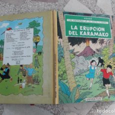 Cómics: LAS AVENTURAS DE JO,ZETTE Y JOCKO,LA ERUPCION DEL KARAMAKO, 1 EDICION , JUVENTUD. Lote 121226207