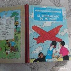 Cómics: LAS AVENTURAS DE JO,ZETTE Y JOCKO,EL TESTAMENTO DE MR.PUMP, 1 EDICION , JUVENTUD. Lote 121226527