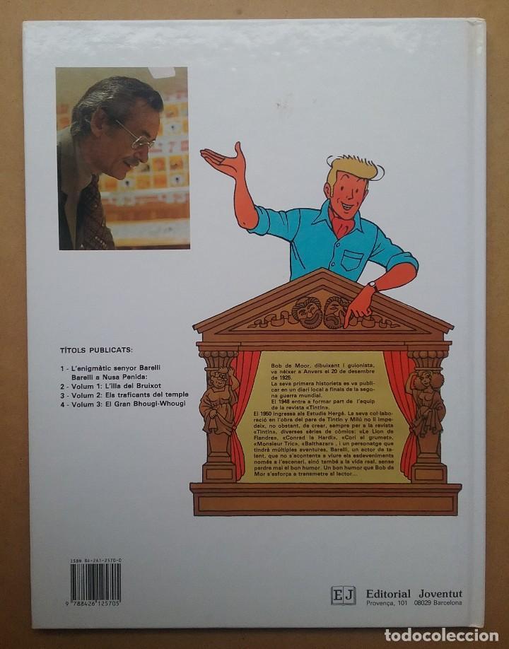 Cómics: CÓMIC BARELLI VOL. 3 EL GRAN BHOUGI - WHOUGI BOB DE MOOR EDITORIAL JOVENTUT - Foto 2 - 121349139