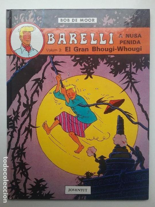 CÓMIC BARELLI VOL. 3 EL GRAN BHOUGI - WHOUGI BOB DE MOOR EDITORIAL JOVENTUT (Tebeos y Comics - Juventud - Barelli)