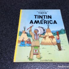 Cómics: LAS AVENTURAS DE TINTIN - TINTIN EN AMERICA -ED. JUVENTUD 1976. Lote 121437103