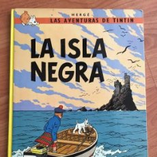 Cómics: CÓMIC LAS AVENTURAS DE TINTIN. LA ISLA NEGRA - ED. JUVENTUD, AÑO 1986 DÉCIMA EDICIÓN. Lote 121442991