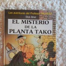 Cómics: LAS AVENTURAS DEL PROFESOR PALMERA - EL MISTERIO DE LA PLANTA TAKO. Lote 121528851