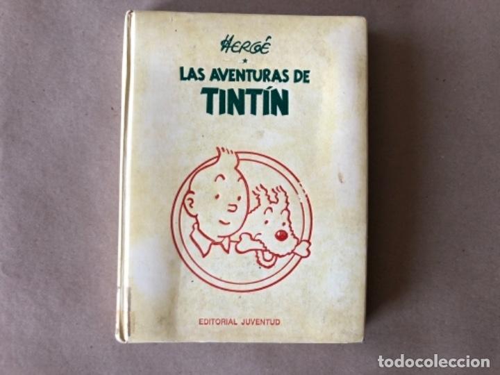 LAS AVENTURAS DE TINTÍN, HERGÉ (EDITORIAL JUVENTUD) TOMO 4. 4 OBRAS. (Tebeos y Comics - Juventud - Tintín)