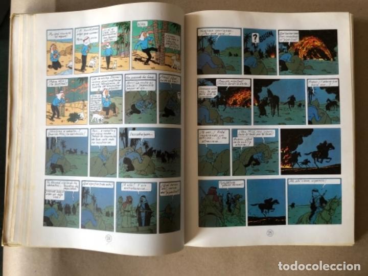 Cómics: LAS AVENTURAS DE TINTÍN, HERGÉ (EDITORIAL JUVENTUD) TOMO 4. 4 OBRAS. - Foto 5 - 121627695