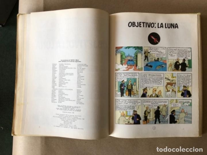 Cómics: LAS AVENTURAS DE TINTÍN, HERGÉ (EDITORIAL JUVENTUD) TOMO 4. 4 OBRAS. - Foto 6 - 121627695