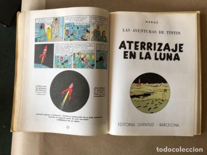 Cómics: LAS AVENTURAS DE TINTÍN, HERGÉ (EDITORIAL JUVENTUD) TOMO 4. 4 OBRAS. - Foto 9 - 121627695