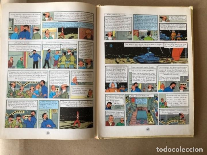 Cómics: LAS AVENTURAS DE TINTÍN, HERGÉ (EDITORIAL JUVENTUD) TOMO 4. 4 OBRAS. - Foto 11 - 121627695