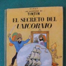Comics : TINTIN EL SECRETO DEL UNICORNIO EDITORIAL JUBENTUD LOMO TELA. Lote 121708919