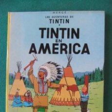 Cómics: TINTIN EN AMERICA EDITORIAL JUVENTUD 1981. Lote 121852331