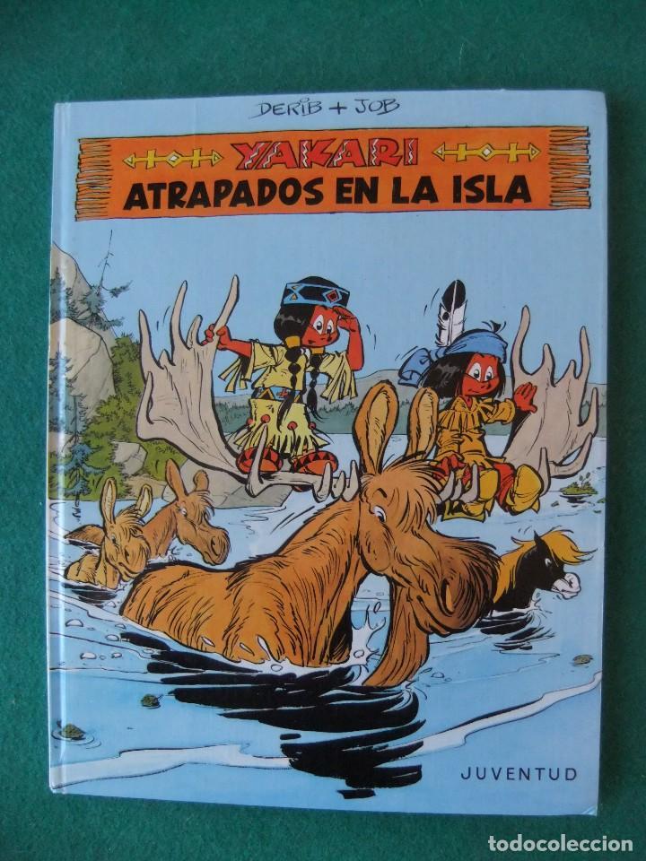 YAKARI Nº 9 ATRAPADOS EN LA ISLA EDITORIAL JUVENTUS 1988 (Tebeos y Comics - Juventud - Yakary)