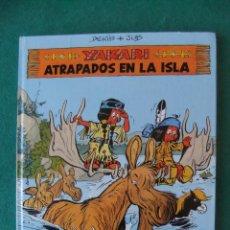 Cómics: YAKARI Nº 9 ATRAPADOS EN LA ISLA EDITORIAL JUVENTUS 1988. Lote 121852735