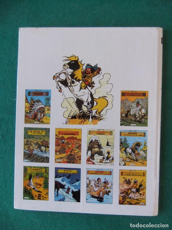 Cómics: YAKARI Nº 9 ATRAPADOS EN LA ISLA EDITORIAL JUVENTUS 1988 - Foto 2 - 121852735