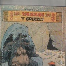 Cómics: YAKARI Y GRIZZLY-JUVENTUD-AÑO 1981-FORMATO CARTONE-COLOR-DERIB&JOB-Nº 5 . Lote 121858023