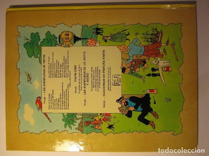 Cómics: comic tintin aterrizaje en la luna año 1981 editorial juventud barcelona - Foto 2 - 195378531
