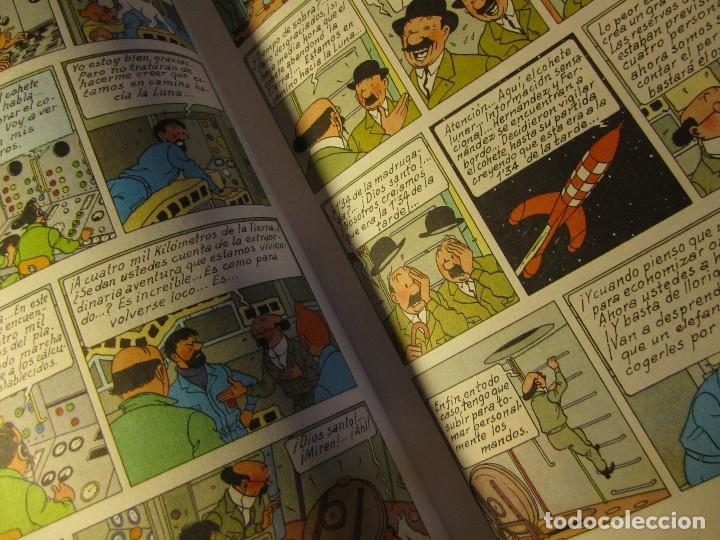 Cómics: comic tintin aterrizaje en la luna año 1981 editorial juventud barcelona - Foto 3 - 195378531