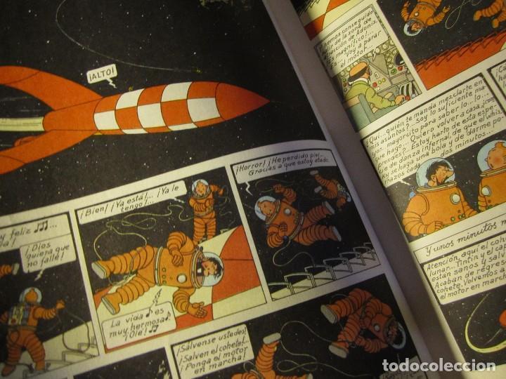 Cómics: comic tintin aterrizaje en la luna año 1981 editorial juventud barcelona - Foto 4 - 195378531