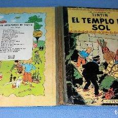 Cómics: TINTIN EL TEMPLO DEL SOL 2ª SEGUNDA EDICION JUVENTUD AÑO 1961 EN BUEN ESTADO ORIGINAL. Lote 121908231