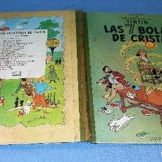 Cómics: TINTIN LAS 7 BOLAS DE CRISTAL 2ª SEGUNDA EDICION JUVENTUD AÑO 1967 EN BUEN ESTADO ORIGINAL. Lote 121911707