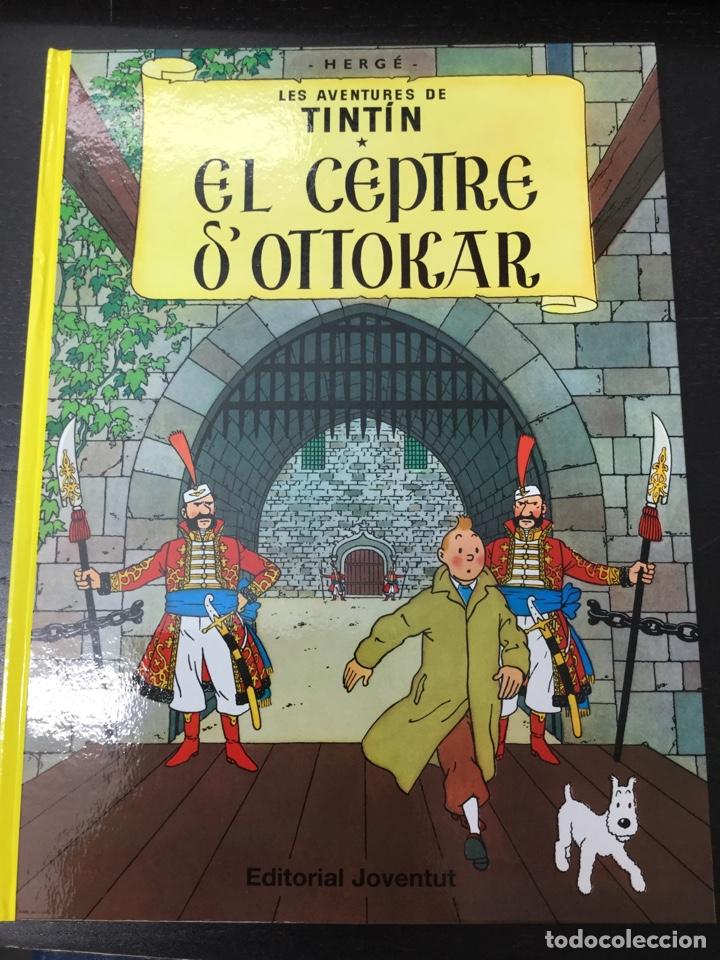 TINTIN 8. EL CEPTRE D,OTTOKAR - JOVENTUT - EDICIÓ ACTUAL NUMERADA (CATALÀ) (Tebeos y Comics - Juventud - Tintín)