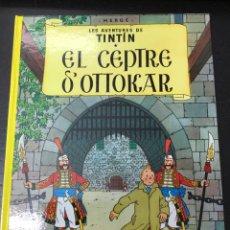 Cómics: TINTIN 8. EL CEPTRE D,OTTOKAR - JOVENTUT - EDICIÓ ACTUAL NUMERADA (CATALÀ). Lote 122744652