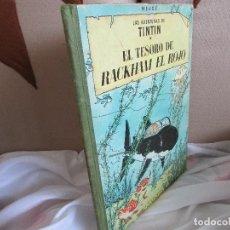 Cómics: TINTIN EL TESORO DE RACHAM EL ROJO SEGUNDA EDICIÓN. Lote 122972983