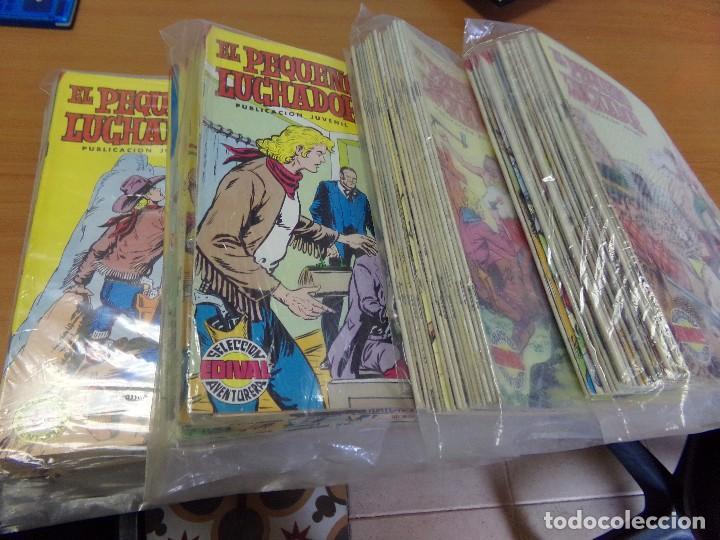 81 TEBEOS DE EL PEQUEÑO LUCHADOR, SELECCION AVENTURA, (Tebeos y Comics - Juventud - Otros)