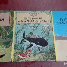 Cómics: LAS AVENTURAS DE TINTIN HERGE JUVENTUD. Lote 123410671
