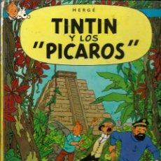 Cómics: HERGE - TINTIN Y LOS PICAROS - JUVENTUD 1976 1ª EDICION ESPAÑOLA - TAPA DURA - VER DESCRIPCION. Lote 123541127