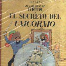 Cómics: TINTIN EL SECRETO DEL UNICORNIO HERGE SEGUNDA EDICION. Lote 123598263