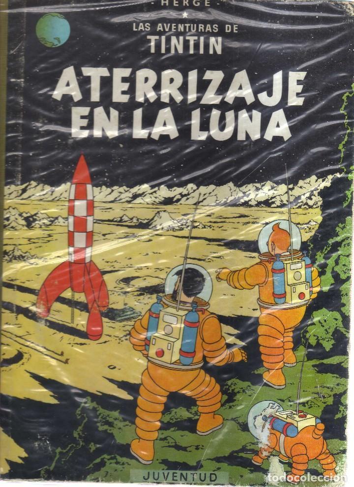 TINTIN ATERRIZAJE EN LA LUNA HERGE SEGUNDA EDICION 1965 (Tebeos y Comics - Juventud - Tintín)
