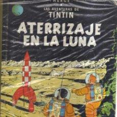 Cómics: TINTIN ATERRIZAJE EN LA LUNA HERGE SEGUNDA EDICION 1965. Lote 123603115