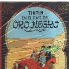 Cómics: TINTIN EN EL PAIS DEL ORO NEGRO HERGE SEGUNDA EDICION. Lote 123609383