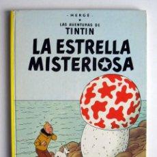Cómics: LA ESTRELLA MISTERIOSA. AVENTURAS DE TINTIN. HERGÉ. NOVENA EDICIÓN. 1982. Lote 124029007