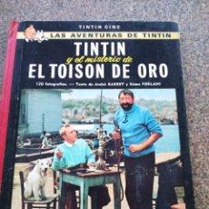 Cómics: TINTIN Y EL MISTERIO DE EL TOISON DE ORO -- TINTIN CINE -- JUVENTUD - 1ª EDICION 1968 --. Lote 124146043
