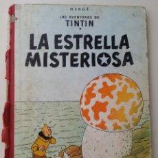 Cómics: TINTIN LA ESTRELLA MISTERIOSA, ED. JUVENTUD 2ª ED. LOMO DE TELA ROTO. Lote 124271111