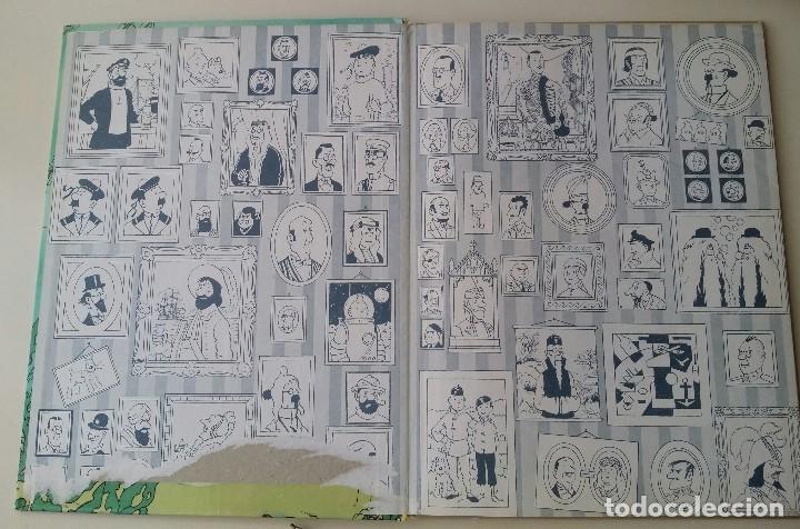 Cómics: TINTIN EL TESORO DE RACKHAM EL ROJO, ED. JUVENTUD 10ª 1984 - Foto 2 - 124271547
